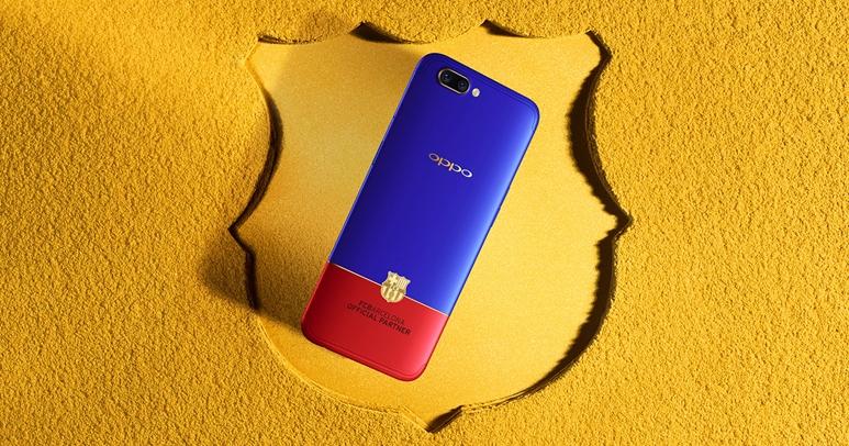 OPPO R11 推出紅藍配色「巴薩」限量版,預購送藍牙手還、巴薩 Prestige 足球