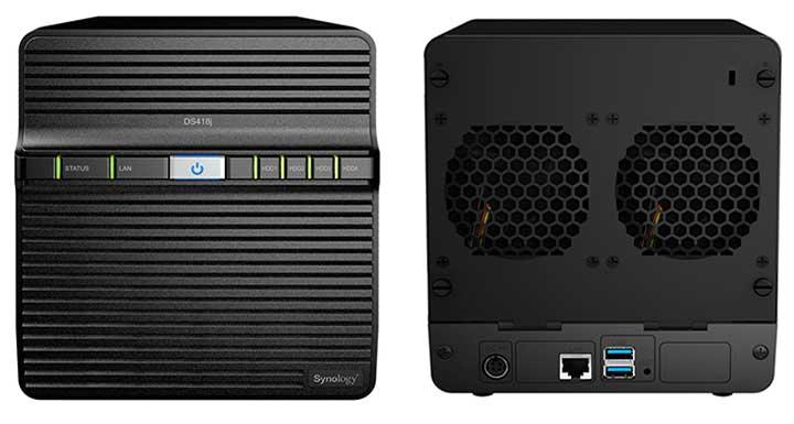 Synology 發表 DiskStation DS418j 功能強大可搭載四顆硬碟的入門款NAS,專為家庭打造資料備份及多媒體串流