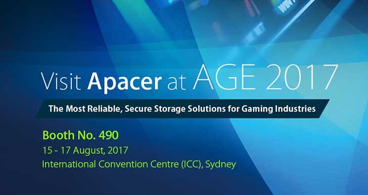 宇瞻科技將在澳洲博弈展呈現安全與可靠性兼具的博弈儲存方案
