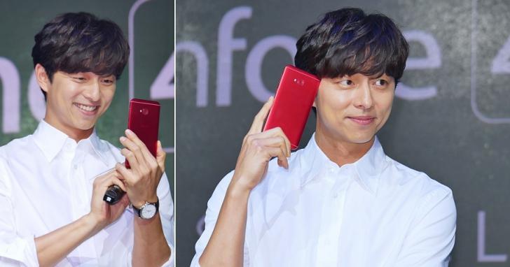 [圖集] 孔劉登台代言 ZenFone 4,近距特寫全記錄