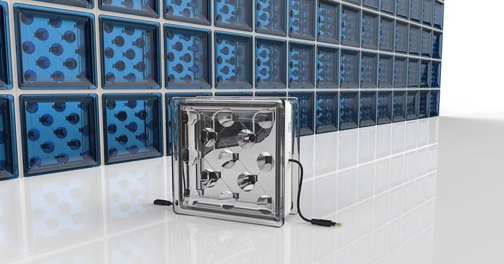 新型透明玻璃磚做建材,兼顧採光與太陽能電力轉換 | T客邦