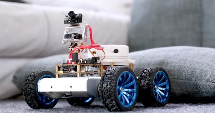 CrazyPi自走車套件,還能遠距離雲端搖控