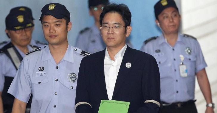 三星少主李在鎔涉賄案結果出爐:為了接班三星行賄,判處 5 年徒刑