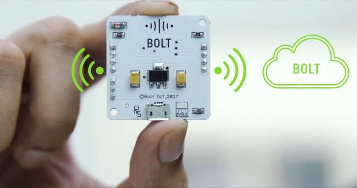 不到新台幣300元的物聯網平台Bolt,支援透過手機、電腦遙控操作