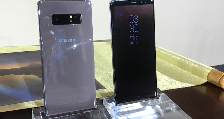 Samsung Galaxy Note 8 售價 29,900 元,預購可於 9 月 12 日搶先領機