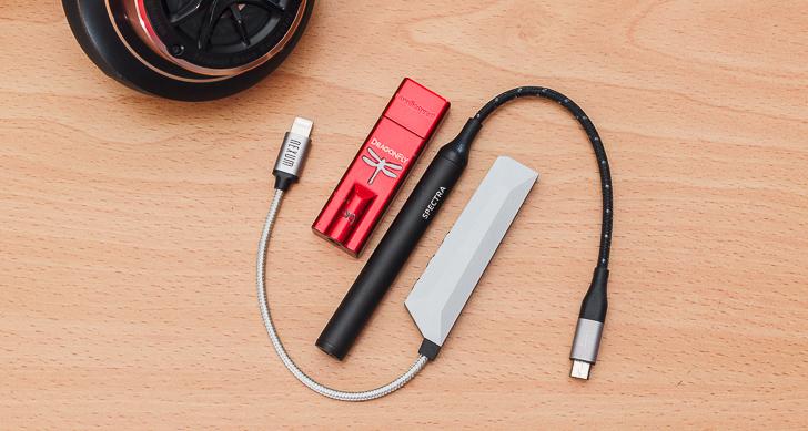 提升行動聆聽新境界,挑出最適耳機擴大機,AudioQuest DragonFly Red / NextDrive Spectra / Nexum Aqua 同場競演
