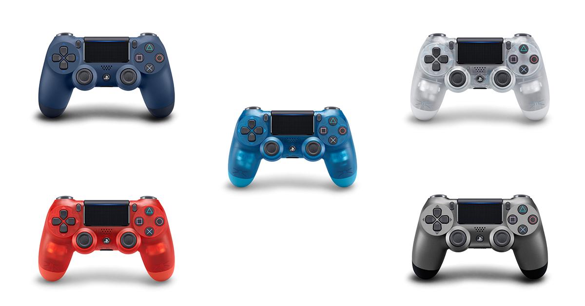 PS4 DualShock 4 無線控制器推出五款新色,售價 1,780 元