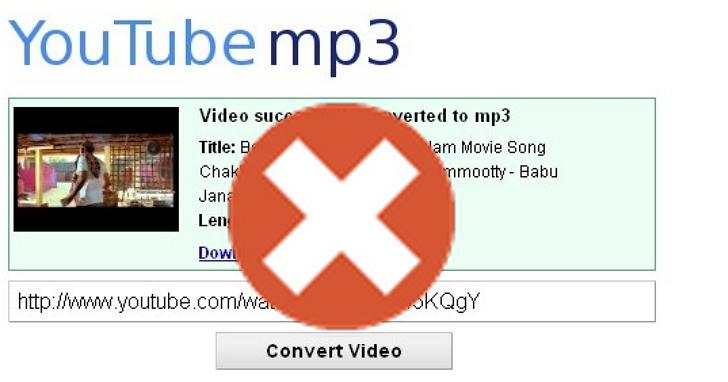 最多人用來將YouTube轉MP3的網站,「YouTube-MP3.org」永久關站