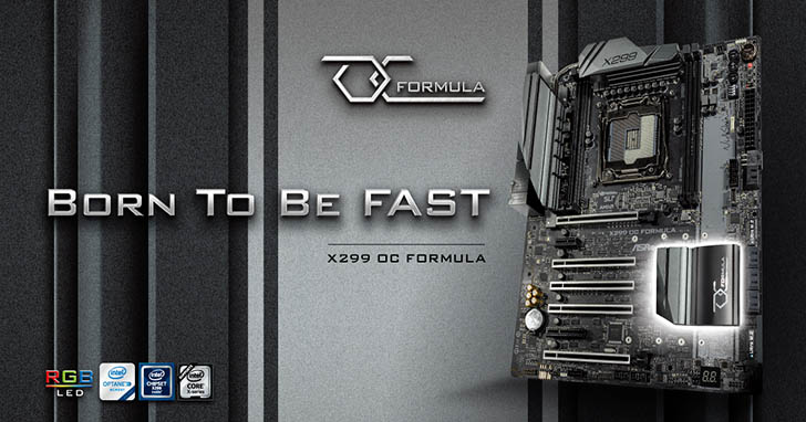 華擎 X299 OC Formula 超頻王者 強勢回歸