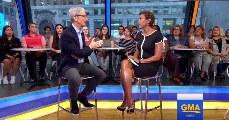 為 iPhone 8 緩頰?發表會後首次受訪,庫克:蘋果從來都不是要打造最暢銷的產品