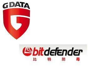 高偵測率防毒好軟體:G Data、BitDefender