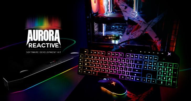 Creative釋出Aurora Reactive SDK,自己寫程式控制電競周邊的炫光效果