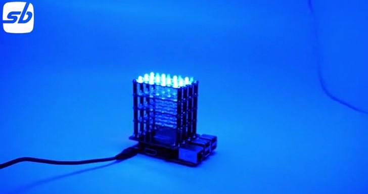 加上PiCube套件,Raspberry Pi也能變成LED矩陣