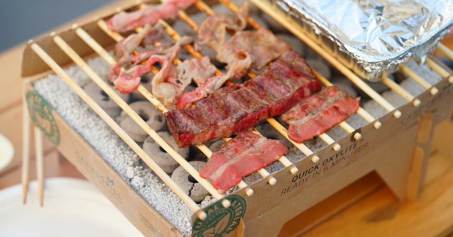 烤肉囉!從升火到開烤只要 5 分鐘的 CASUSGRILL 環保烤肉架使用分享