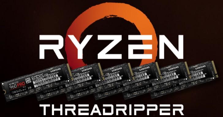 說好的免費升級來了,AMD X399 平台支援 NVMe RAID 組態