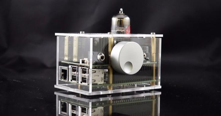 Pi 2 Design推出以Raspberry Pi為基礎的真空管DAC以及擴大機