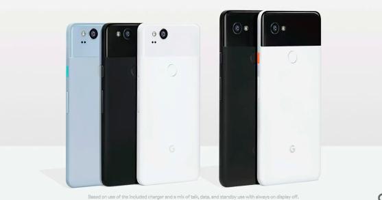 Google Pixel 2、Pixel 2XL 登場,有擠壓感應功能、相機為 DxO 評價最高分