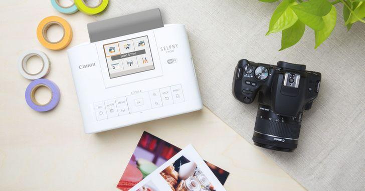 Canon發佈最新一代SELPHY CP1300時光映相機,新增多合一拼貼列印