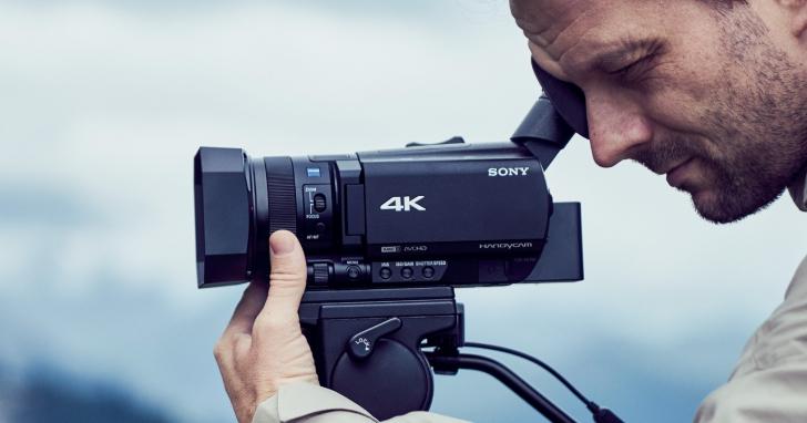 Sony 推出首款搭載相位對焦點 4K Handycam FDR-AX700:4K 畫質、12x 變焦與 960fps 高速錄影