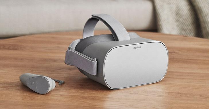 有望推動 VR 普及率?Oculus VR 發表不須電腦手機就能獨立運作的 Oculus Go 頭戴裝置,售價僅 199 美元