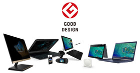 宏碁8項產品榮獲2017年Good Design設計大獎