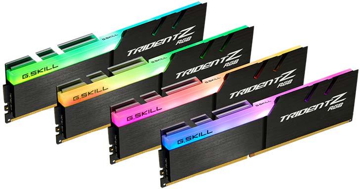 芝奇推出幻光戟DDR4 4266MHz 32GB(8GBx4)套裝