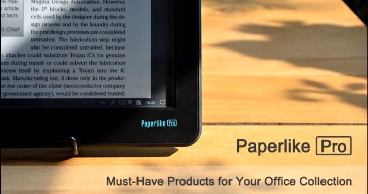 電子紙護眼螢幕再進化,Paperlike Pro終於加入HDMI輸入端子