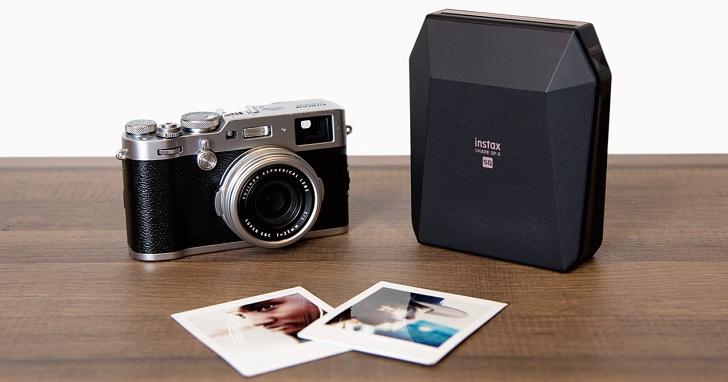 手機/相機/FB照片 13 秒立即印,富士發表 instax SHARE SP-3 印相機
