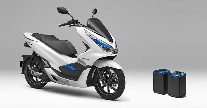 模式與 Gogoro 有幾分相似?HONDA 發表可換電池設計的 PCX 電動機車