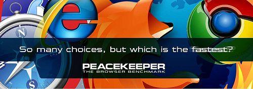 PEACEKEEPER,守護瀏覽器世界的和平?