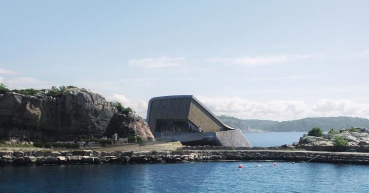 歐洲第一間海底餐廳《UNDER》不只浪漫美觀,竟然還可淨化海水!