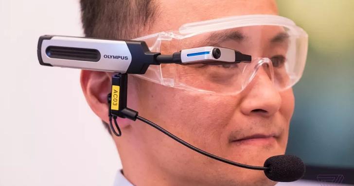 不是要做下一個 Google Glass,Olympus 推出屬於自己的智慧眼鏡 EyeTrek El-10