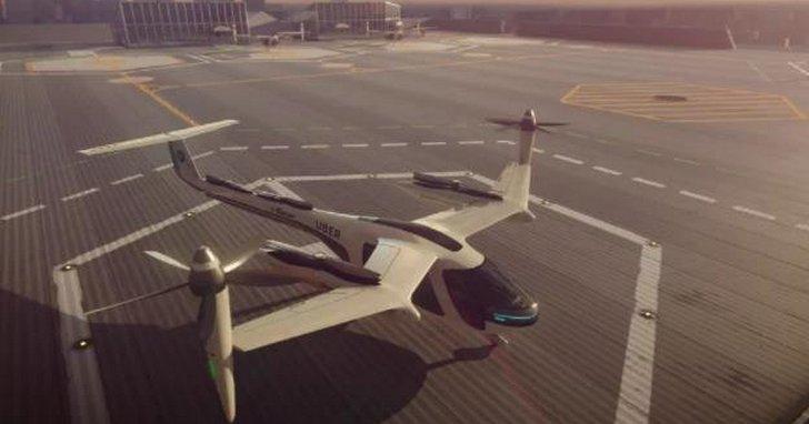 Uber 飛行汽車首次曝光,聯手 NASA 打造低空飛行服務