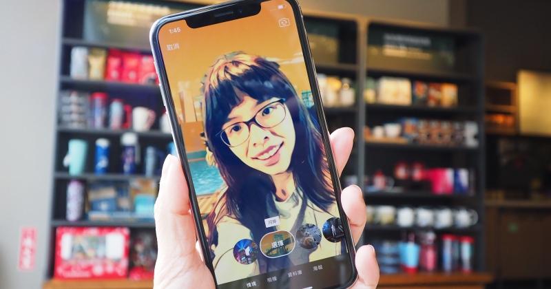 iPhone X 專屬!Apple 推 Clips 自拍情境更新,可 360 度置身星際大戰場景