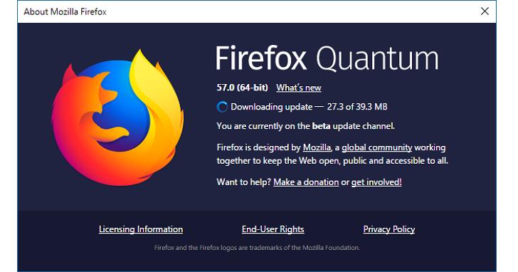 真的快,好厲害!Firefox Quantum瀏覽器正式版本今天發佈,速度直逼Chrome絕對值得安裝