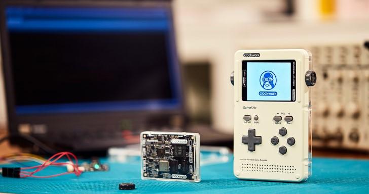 2.7吋開源迷你掌上型電腦GameShell,模組化設計方便自由改造
