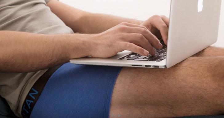 科技產品成癮男子必備?確保精子不會被煮壞的四角褲 SPARNTAN