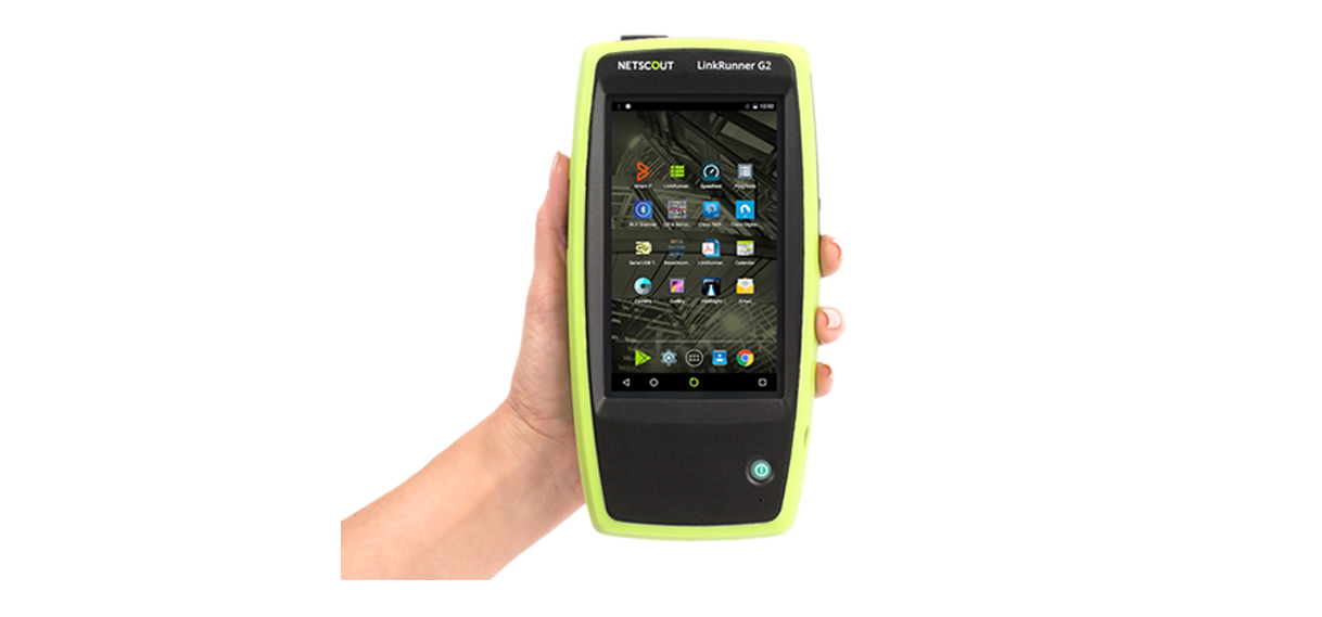 NETSCOUT 發佈首款 Android 智慧型網路測試儀