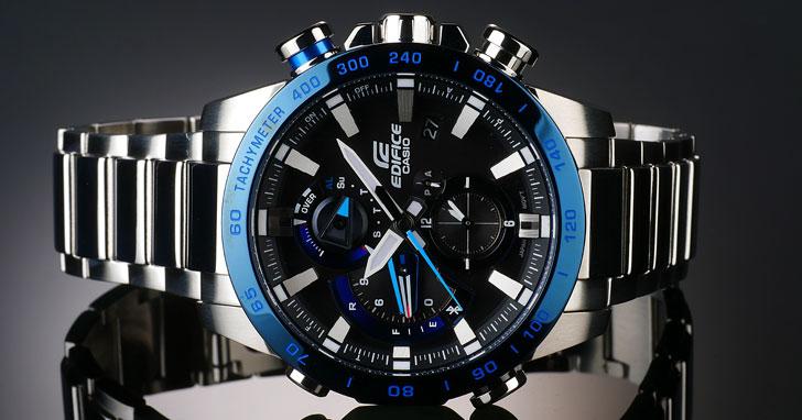 源於對速度與極限的追求:CASIO全新藍牙系列錶款EQB-800DB 提供目標時間顯示 讓你精準掌握黃金分秒!