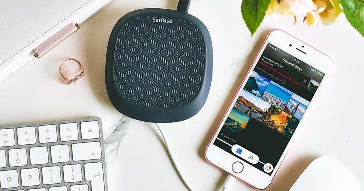 Western Digital 打造 iPhone 備份解決方案,全新 SanDisk iXpand Base 可於充電時儲存照片與影片