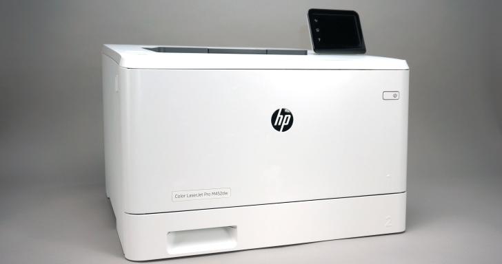 HP專業彩雷Color LaserJet Pro M452dw,智能連網雲端列印掃瞄更便利
