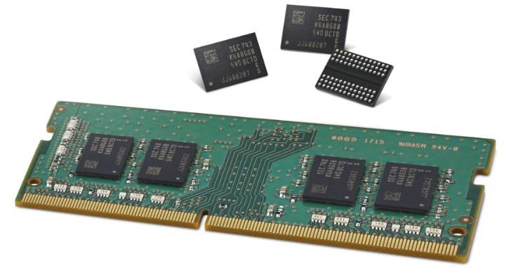 Air Spacer 減少寄生電容,Samsung 第二代 10 奈米等級 DDR4-3600 開始量產