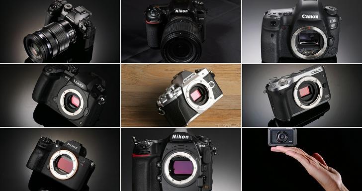 2017 總回顧:年度十大經典相機總盤點