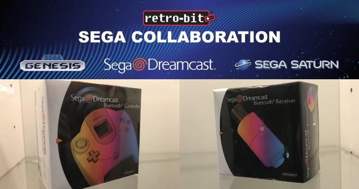Retro-Bit於CES推出多款SEGA授權無線手把,同時相容PC以及原始遊戲主機