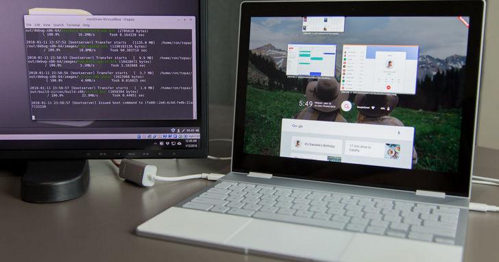 Google 用來統一 Chrome與Android系統的Fuchsia OS最新進度:目前已經可以在硬體上跑了
