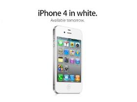 白色iPhone 4 於28日正式開賣,包括台灣