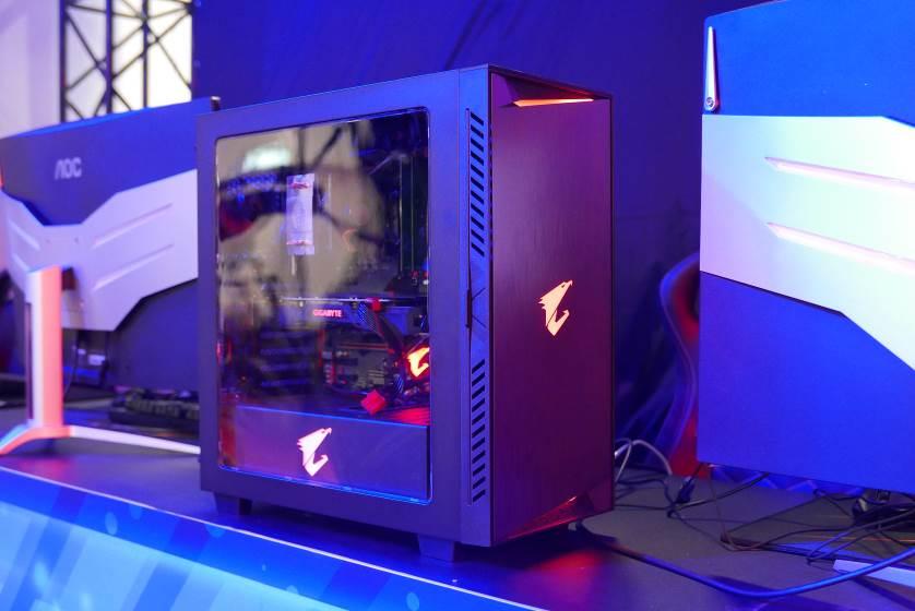 2018 TGS 大會電競舞台指定選用 AORUS 電競主機 帶給玩家最強憾的電競體驗