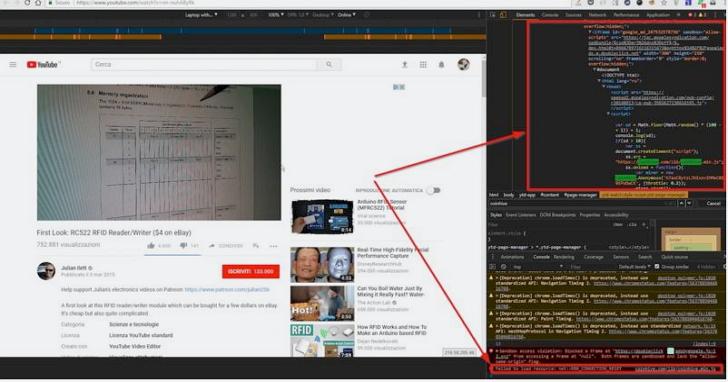 台灣的Youtube廣告被發現部份藏有挖礦程式碼,連看影片都可能幫別人挖礦!