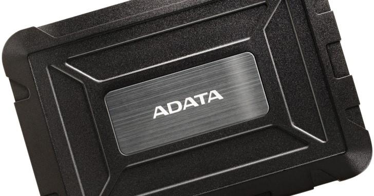 幫退役 2.5 吋硬碟找個家,Adata 推出防塵防水 ED600 2.5 吋 USB 外接盒