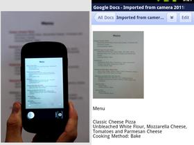 喀擦!Google Docs for Android 把拍照片變文件
